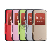 Fashionable Dormancy Smart Cover for Samsung S6