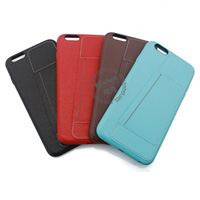 Genuine Leather Phone Case with Card Slot for iPhone 6