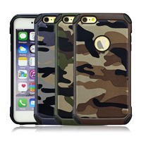 High Quality Camouflage Mobile Phone Case for iPhone 6