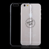 PC Hardness Anti-scratch Transparent Mobile Phone Case for iPhone 6