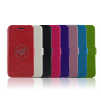 Wholesale Flip PU Leather Case With Side lock for iPhone 6